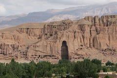 Buddha Statue Bamyan - Afghanistan. Bamyan valley, hindu kush mountain region Stock Photography