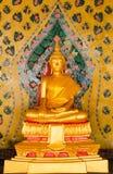 Buddha statue, Bangkok Thailand Stock Photo