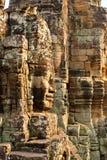 Buddha-Statue, Bayon-Tempel, Kambodscha Stockfoto