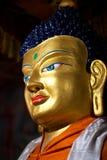 Buddha-Statue bei Hemis Gompa in Leh, Ladakh, Indien Lizenzfreie Stockfotografie