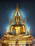 Buddha-Statue bei Wat Benchamabophit Dusitvanaram Stockfotografie