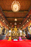 Buddha-Statue bei Wat Saket, Reise-Markstein Lizenzfreies Stockfoto