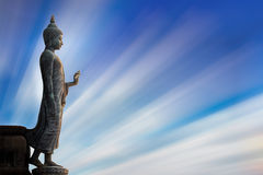 Buddha of statue Royalty Free Stock Photography
