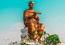 Buddha statue. Big Buddha statue. In Thailand Royalty Free Stock Image