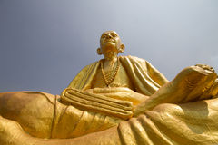 Buddha statue. With blue sky Royalty Free Stock Photo