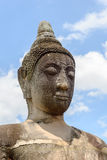 Buddha statue with blue sky background Royalty Free Stock Photography