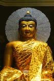 Buddha statue at Bodh Gaya pagoda at Wat Chong Kham , Lampang p. Rovince,Thailand build models from India Stock Photography