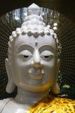 Buddha statue at Bodh Gaya pagoda at Wat Chong Kham , Lampang pr. Ovince,Thailand build models from India Stock Image