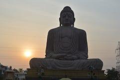 Buddha statue, Bodhgaya Bihar. Buddha statue, Daijokyo Budhist temple Bodhgaya Bihar Stock Image