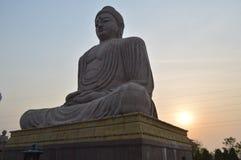 Buddha statue, Bodhgaya Bihar. Buddha statue, Daijokyo Budhist temple Bodhgaya Bihar Royalty Free Stock Image