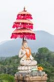 Buddha statue buddha image used as amulets of Buddhism religion. Tropical island Bali, Indonesia. North of Bali. Stock Photography