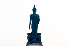 Buddha statue. That Buddhism believe and pray Royalty Free Stock Photo