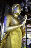 Buddha statue. Buddhist temples in Thailand Royalty Free Stock Photos