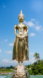 Buddha statue. In ceremony to celebrate new house in thailand Stock Photo
