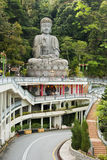 Buddha Statue at Chin Swee Temple. The temple is located on the way up to Genting Highland Royalty Free Stock Images