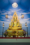 Buddha statue in church Royalty Free Stock Images