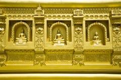Buddha statue in church Royalty Free Stock Photo