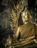 Buddha statue in the church Stock Image