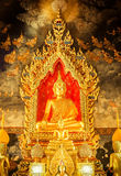 Buddha statue in the church Royalty Free Stock Image