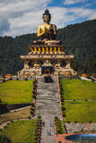 Buddha statue. In the city of Sikkim India Stock Photo