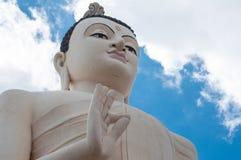 Buddha statue close-up at a Buddhist Temple, Sri Lanka Royalty Free Stock Image