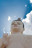 Buddha statue at a Buddhist Temple in Sri Lanka Royalty Free Stock Image