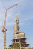 Buddha statue construction. Stock Images
