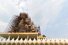 Buddha statue construction. Stock Photography