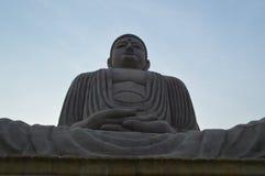 Buddha statue, Daijokyo Budhist temple Bodhgaya Bihar. 80 ft Buddha statue, Daijokyo Budhist temple Bodhgaya Bihar Royalty Free Stock Photos