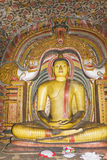 Buddha Statue at Dambulla Rock Temple, Sri Lanka Stock Image
