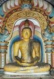 Buddha statue at Dambulla,Sri Lanka Stock Image