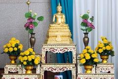 Buddha-Statue der Meditation stockfotografie