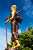 Buddha-Statue in der traditionellen asiatischen Art Vientiane, Laos Stockbilder