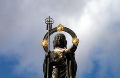 Buddha statue-detail Royalty Free Stock Photo