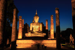 Buddha statue in dusk Stock Photo