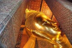 Buddha-Statue in einem Bangkok-Tempel, Thailand Lizenzfreies Stockbild