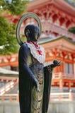 Buddha statue in Enryaku-ji, Mt. Hiei, Japan stock photos