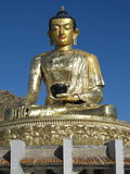 Buddha. Statue in Erdenet city, Mongolia Royalty Free Stock Images