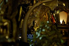 The Buddha statue : Faith in religion. The north of Thailand Royalty Free Stock Photography