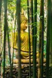 Buddha statue in forest. Royalty Free Stock Photography