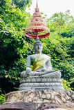 Buddha statue in forest Royalty Free Stock Images