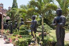 Buddha Statue. Giant Sleeping Buddha Statues in Indonesia Royalty Free Stock Image