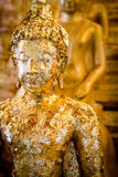 Buddha statue gilded Stock Image