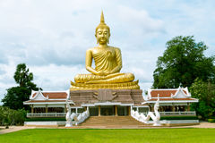 Buddha statue. Go to the temple that is in the holiday and vacation Stock Image