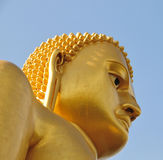 Buddha statue in Golden Temple in Dambulla Stock Photos