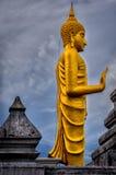 Buddha statue. Golden buddha statue in thailand Stock Image