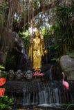 Buddha-Statue am goldenen Berg in Bangkok Lizenzfreie Stockfotos