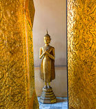 Buddha statue. Statue of Buddha at the Grand Palace Bangkok, Thailand Royalty Free Stock Photography