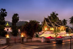 Buddha statue hall Stock Photo