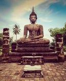 Buddha statue hand close up detail Royalty Free Stock Photos